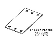 BOCA Safety Plate Regular