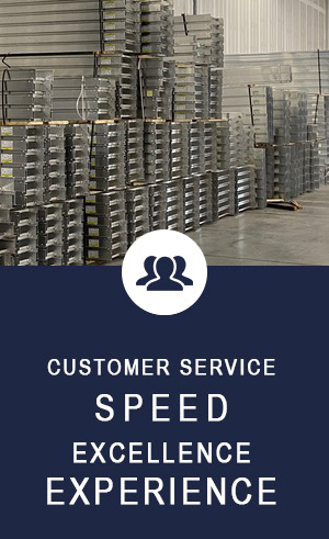 customer service, speed and experience
