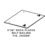 BOCA Safety Plate Self Nailing