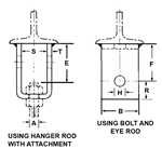 Welding Beam Attachment w/ Bolt & Nut