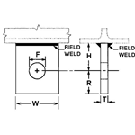 Short Structural Welding Lug