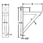 Medium Welded Bracket