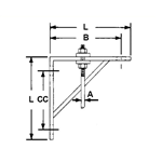 Light Welded Steel Bracket & Clip