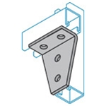 Four Hole Corner Joint Connector