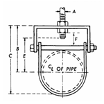 FIG. 11F - Flat Top Clevis Hanger