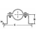 FIG. 95 - Offset Pipe Clamp