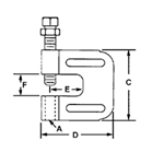 FIG. 21 - Steel C-Clamp