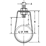 FIG. 31CTI Epoxy Coated (COPPER-GARD) Band Hanger